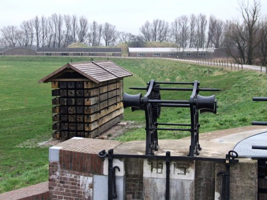 fort bakkerskil papsluis waterlinie holland