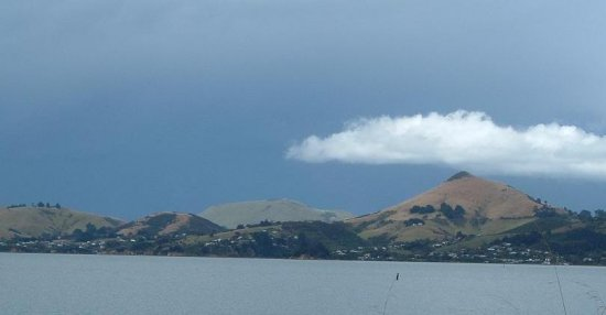 Harbour Cone in an angry sky.