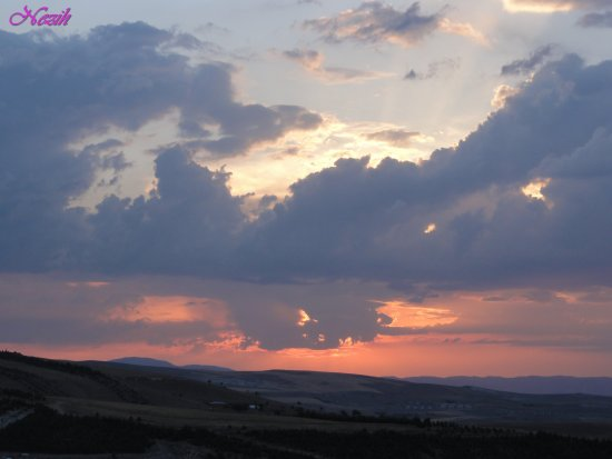 nezihmuin turkiye ankara korusite sky cloud sunset