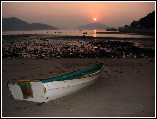 Sunrise in Mui Wo, Hong Kong
