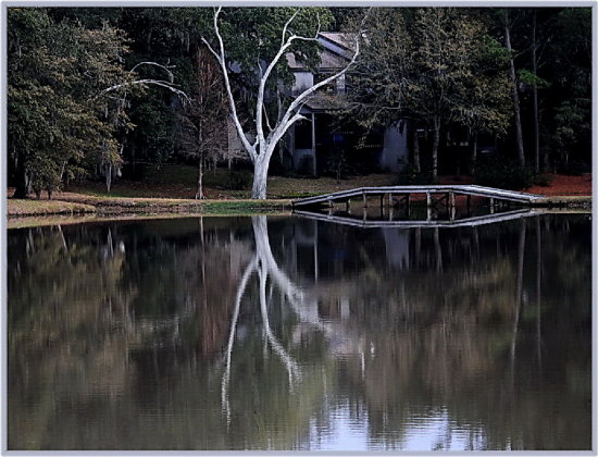 reflectionthursday bridge lake house southcarolina
