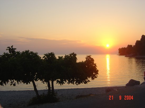 Sunset on Panormos beach - Skopelos Isl.-Gr