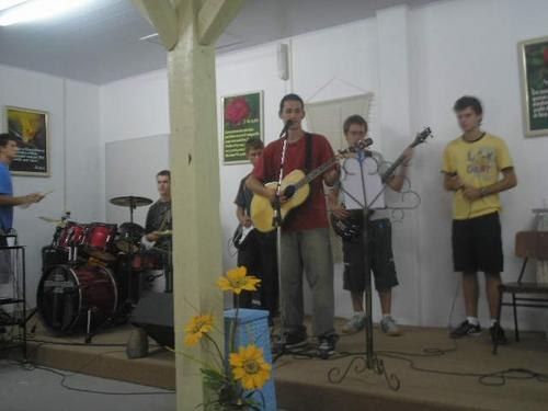 Hi , i am a christian , and it is our young grup from our church. The Evangelical Free Church...ok