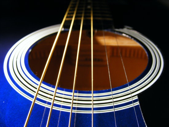 My Shiny BLUE Guitar dotgallery