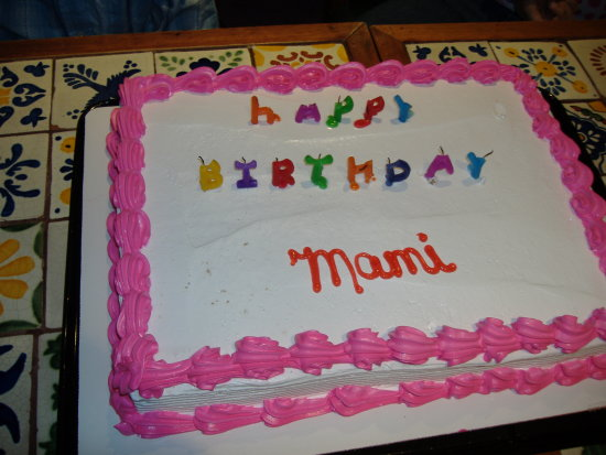 Mommys Birthday in Puerto Rico