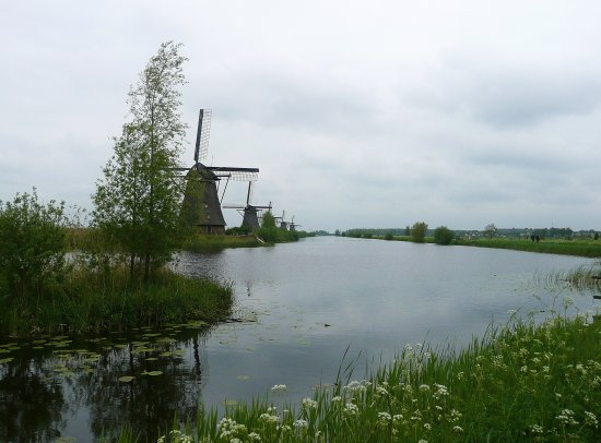 Holland kinderdijk Windmills