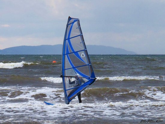 Windsurfing Skalderviken Sweden Skane 2011 June Sea Windy
