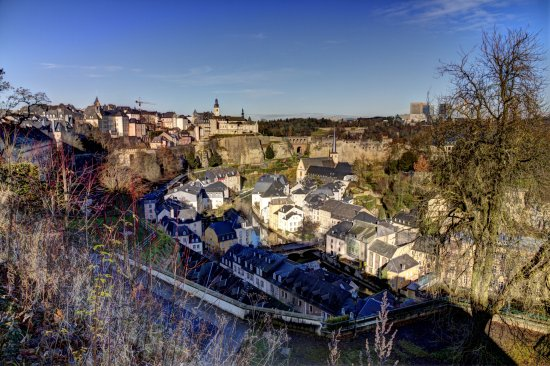 Luxembourg City Winter