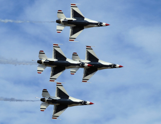 thunderbirds aircraftfriday f16