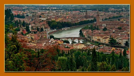 Travel Landscape Verona River Adige