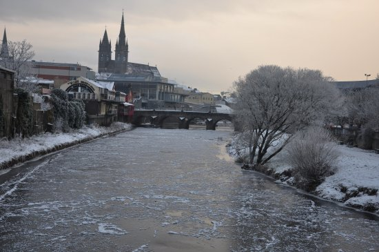 Winter Weather Towns Rivers