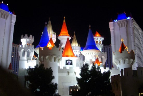 Las Vegas vacation castle Excalibur