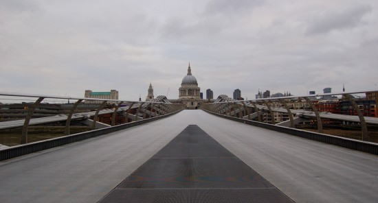 cityviewfriday london st pauls millenium bridge