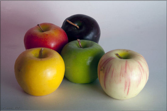 apple studio stilllife