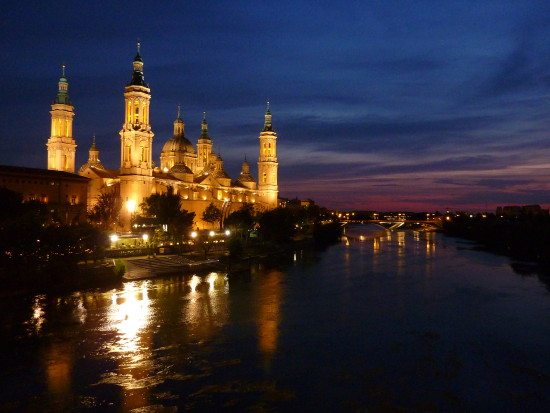 Zaragoza night