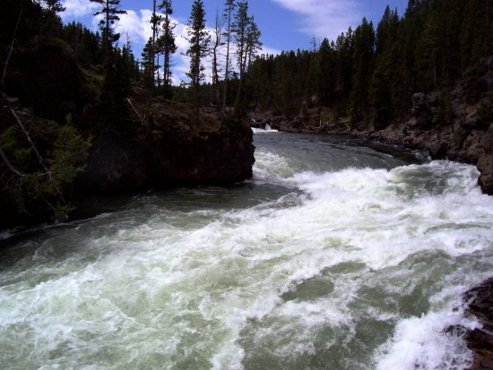 River water Yellowstone Parks