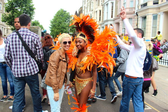 me carnival notting hill london 2012 petzka fun smiles orange