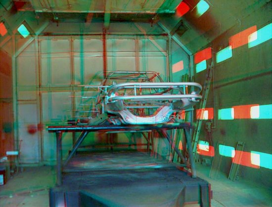 Anaglyph 3D Stereoscopic car
