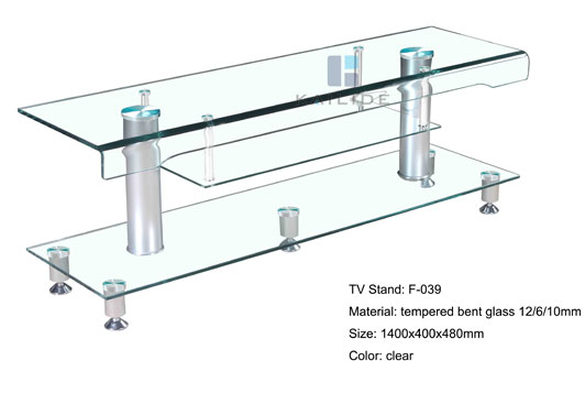 Glass TV Stand Glass Furniture Glass Tables for sale