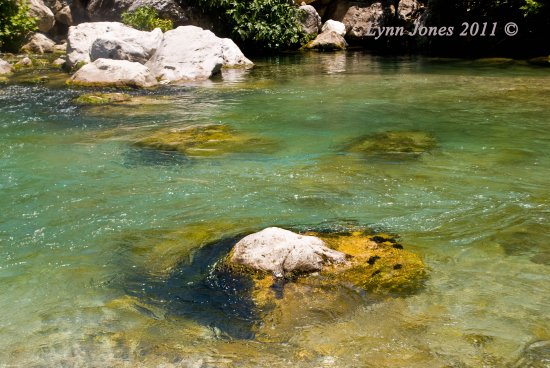 cold water river xanthos turkey