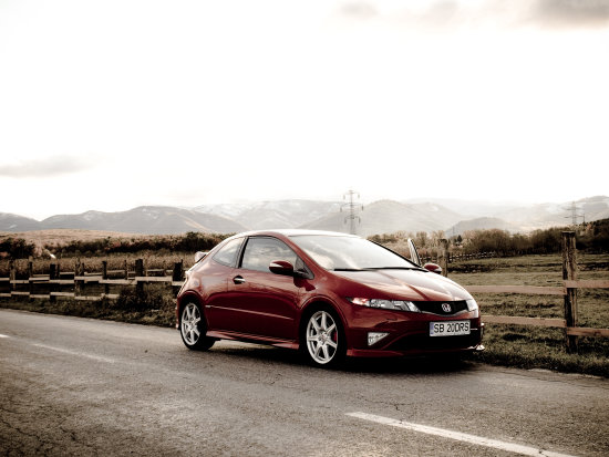 type r gonda civic car