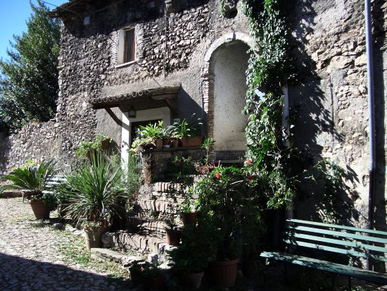 A typical house in Olevano Romano - Italy