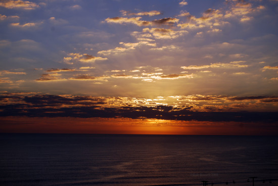 sunrise seascapes ocean sky
