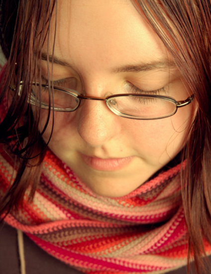 My friend Lynsey. Taken in the studio today (yep, using studio for the first time. hated it lol)