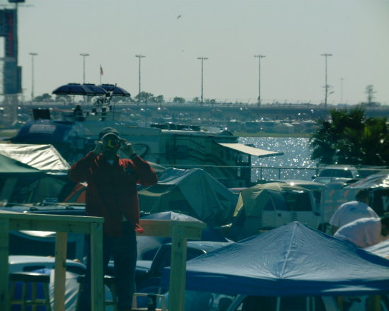 Right back at ya pal Daytona 500 2008 orange lot tent city turns 3 and 4