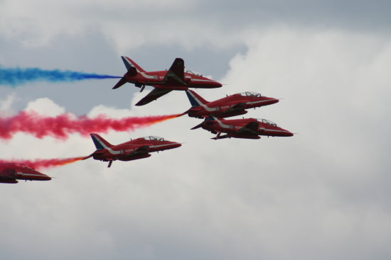 Biggin Hill 2009 Red Arrows Air Display