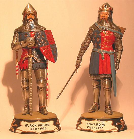 90mm Figures * Edward III & The Black Prince