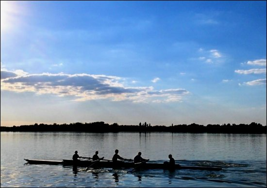 "rowing club "" Palić "" - training ...."
