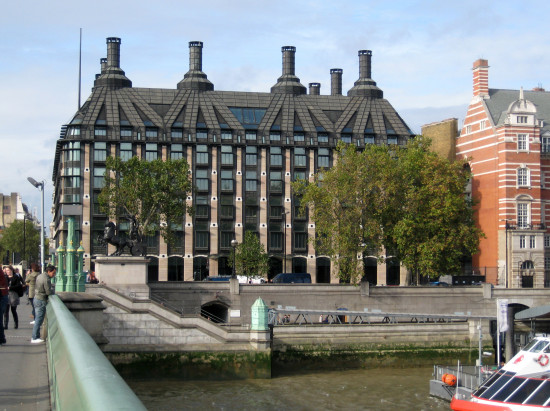 16. and then went with her to Portcullis House....