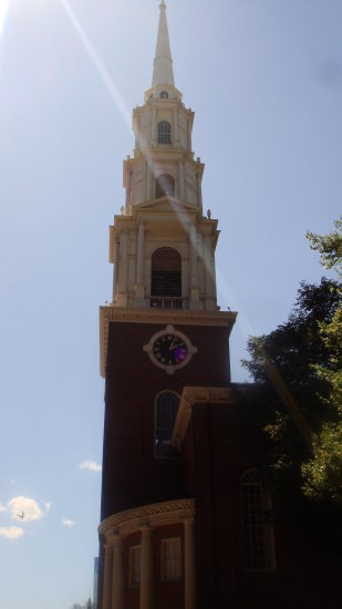 Old Church on Kendall Square Boston 2011