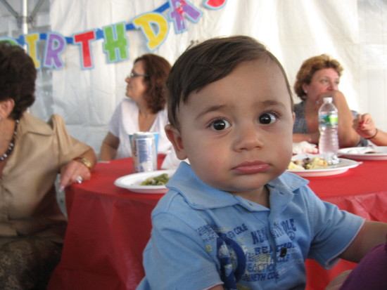 My Nephew Lucas 1st Birthday