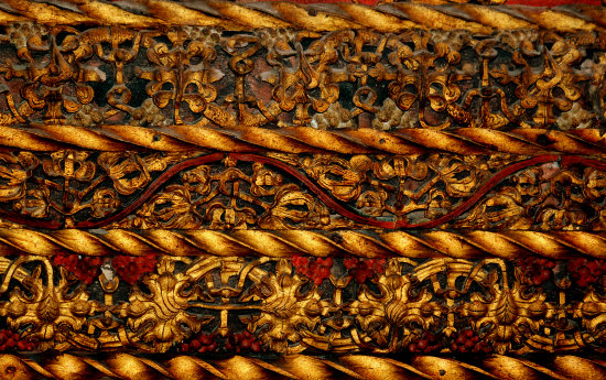 detail challenge84 carved wood rood screen