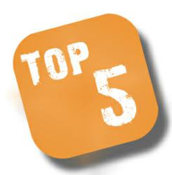 TOP 5 WEB HOSTS
