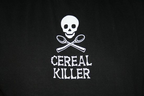 Shirt Cereal Killer