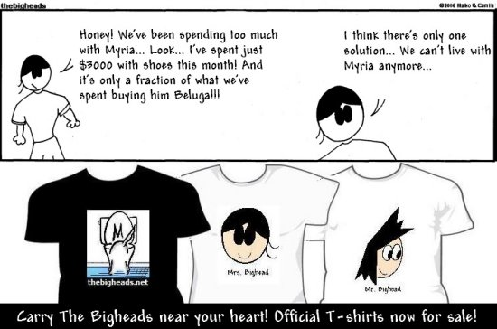 cartoon bigheads help aid shirt