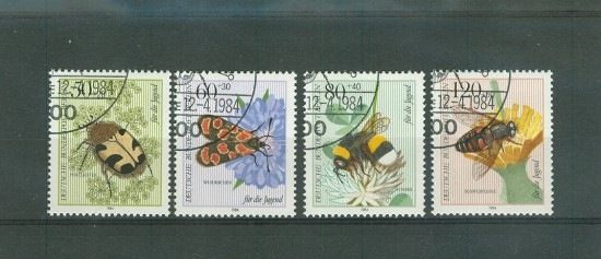 STAMPS INSECTS BUTTERFLIES