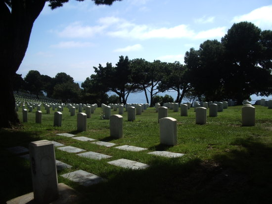 cemetary in San Diego