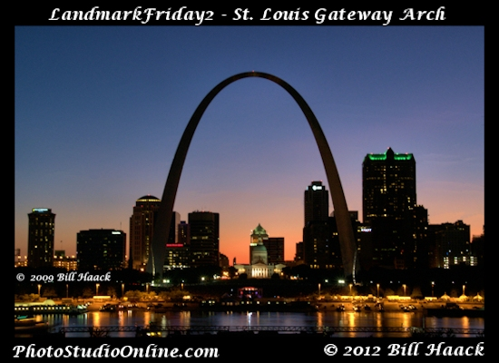 stlouis missouri usa sky sunset lighting FunFriday Landmark2Friday 072509