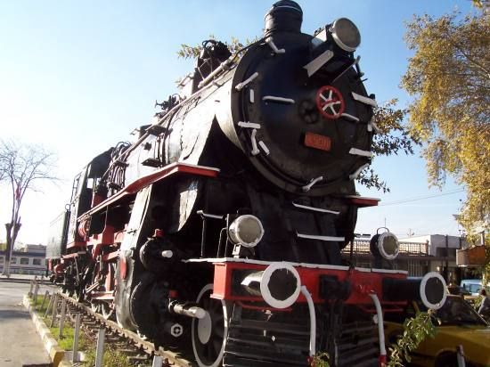 train old steamy konya eski tren buharl305 lokomotif g
