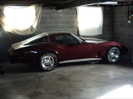 my beautiful vette.