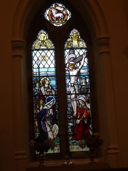 isleofman ellanvannin stjohns church stainedglass windows