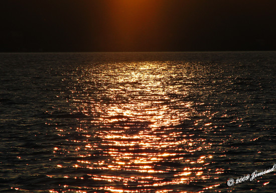 reflectionthursday sunset lakeWinnipeg