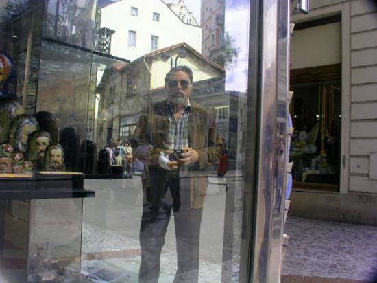 myself, the one and only, at Karlovy Vary, Czech Republic.  april 2005