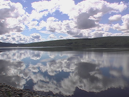 Norway - sky in the lake