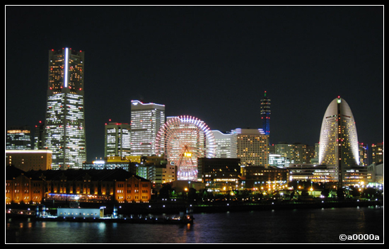 japan yokohama sakuragicho night lights architecture