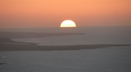 sunset sea lanzarote atlantic land water light christmas